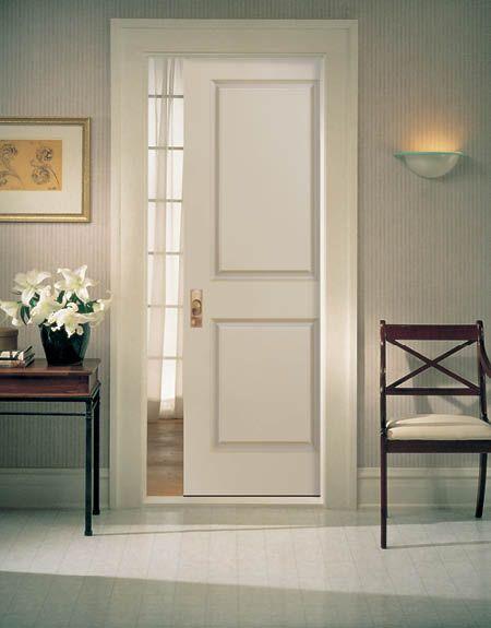 pocket twopanel smooth door doors homestory closets closets
