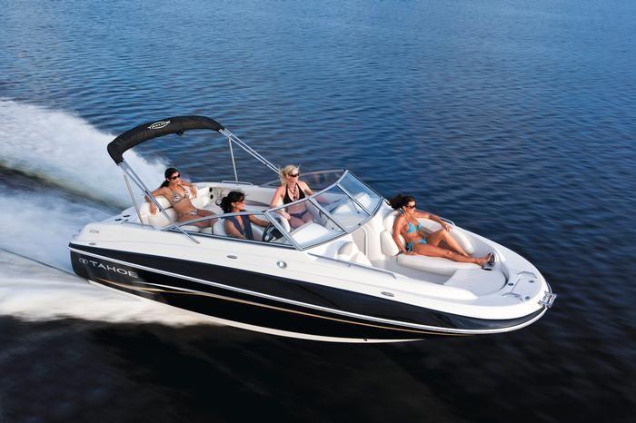 New 2012 Tahoe Boats 228 Deck Boat Photos- iboats com