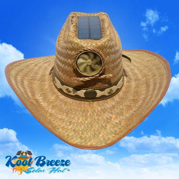 0acea1265 Men's Cowboy Solar Straw Hat w. Band   hat   Hats, Cowboy hats, Solar