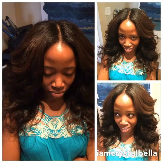 Middle Part Sew In Charlotte Nc Best Hair Weaves Pinterest