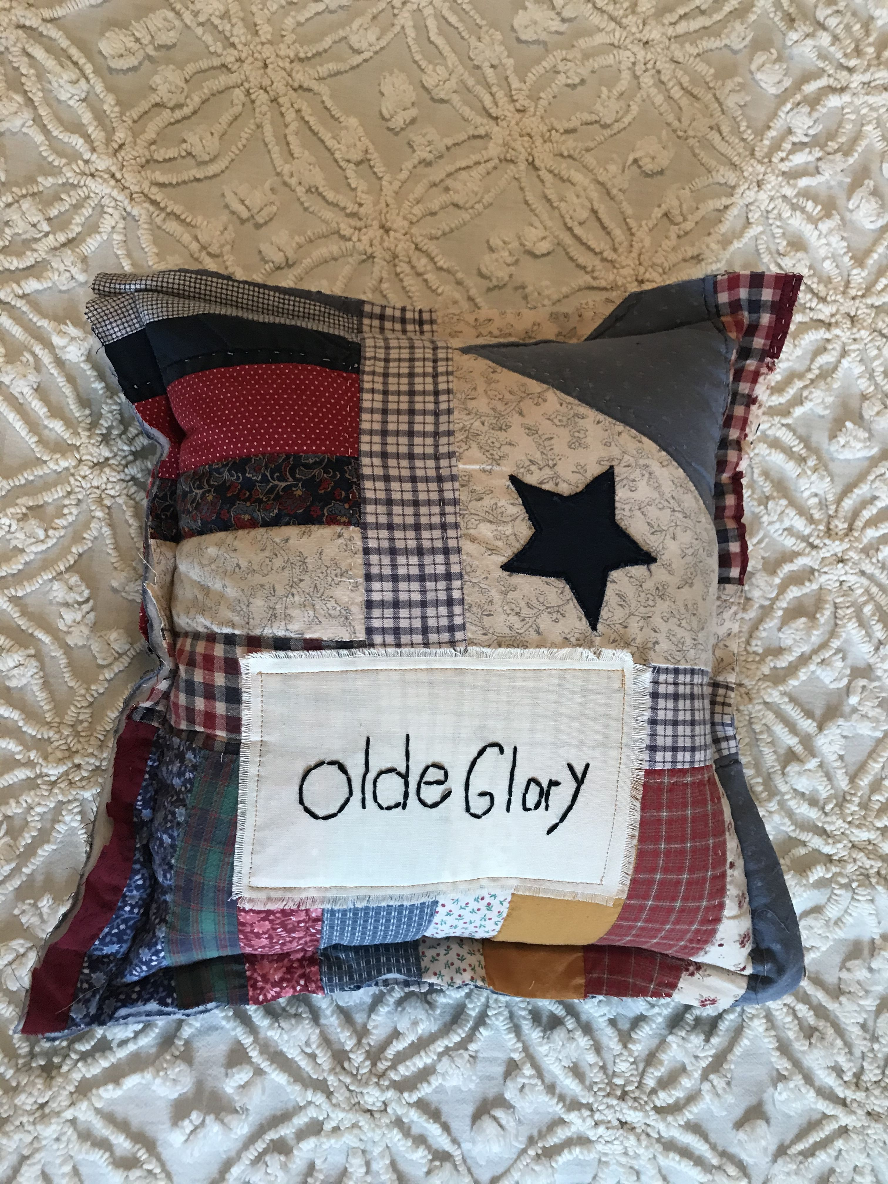 Toots & Stitches Quilt Pillow