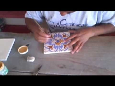 Decorative Tile Paint In This Video Learn How Artisans Create Handpainted Decorative