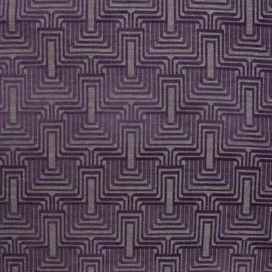 Atlas Art Deco Raised Velvet Upholstery Fabric