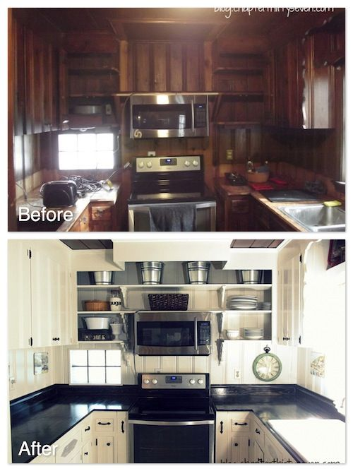 Kitchens With Wood Paneling: 6th Annual Before And After Contest Winners!