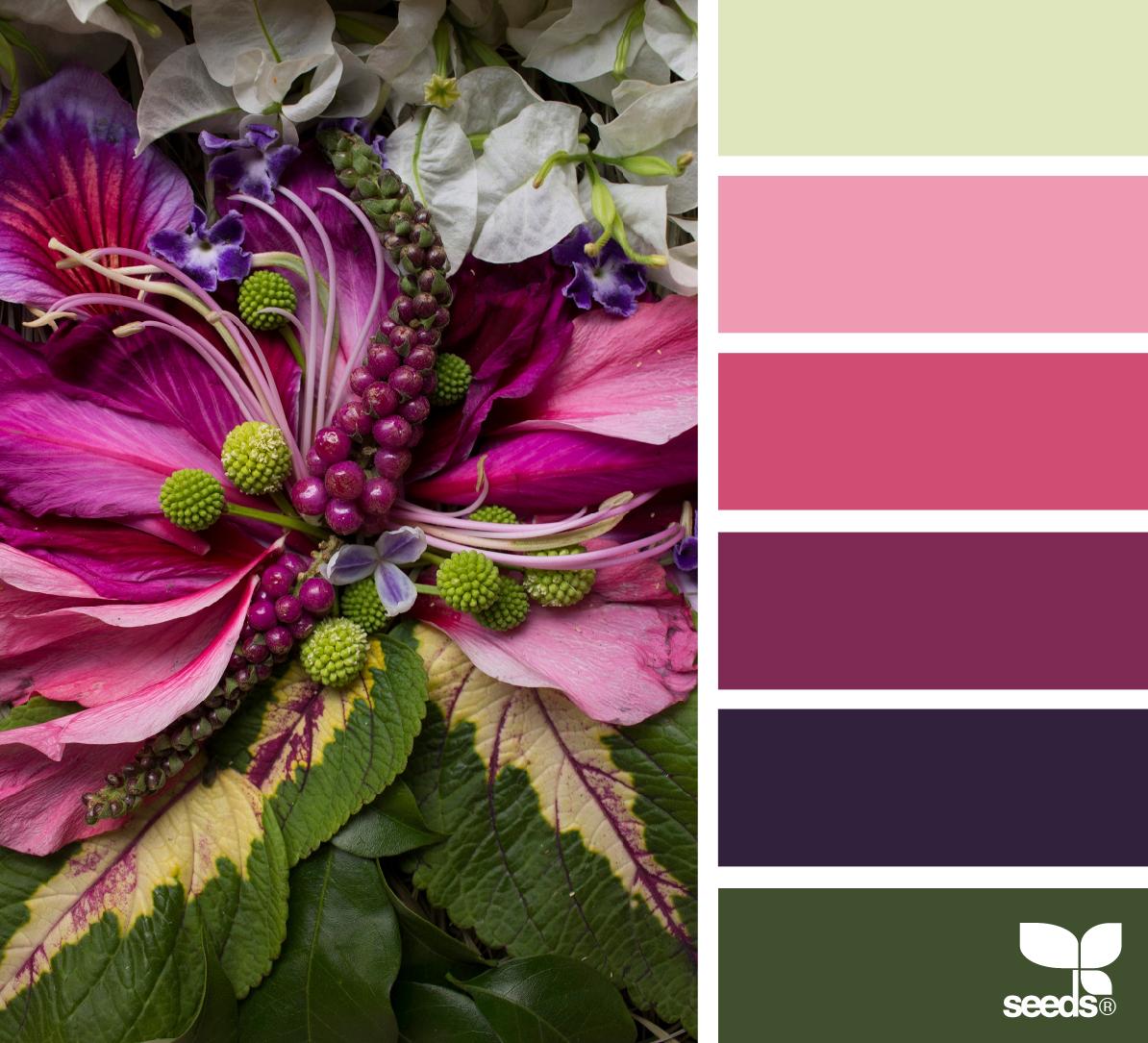 Flora tones in 2019 wohntr ume wandfarbe farbpalette for Smaragdgrun wandfarbe