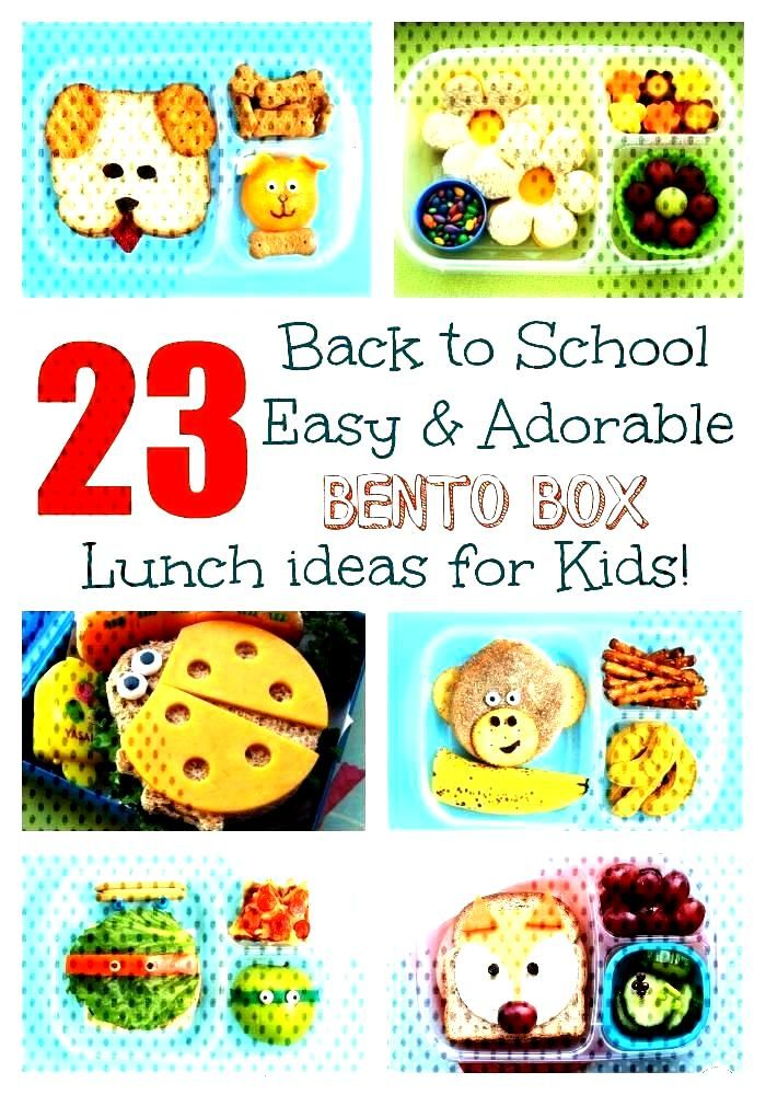 23 Easy amp Adorable Back-to-School Bento Box Lunches! 23 Easy amp Adorable Back-to-School Bento Box Lu