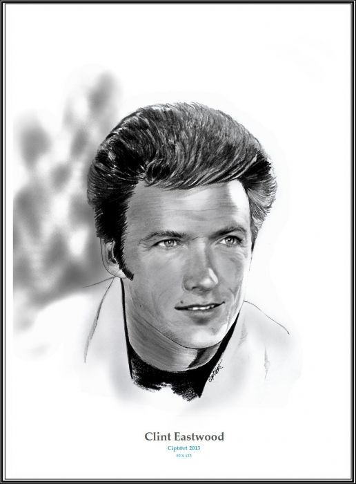 Clint Eastwood by Cipta Stevano Gunawan {from Indonesia}