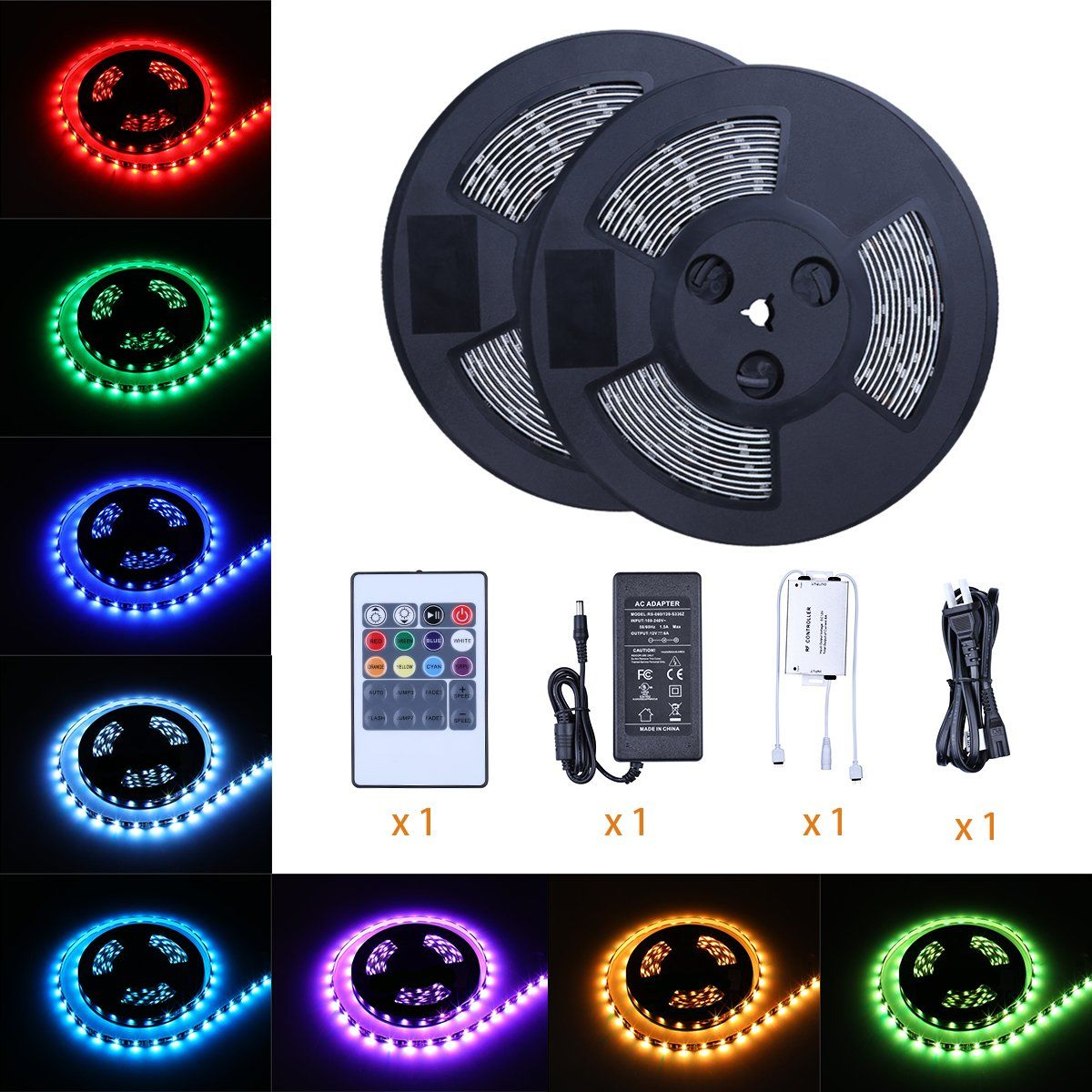 Color Changing Rope Lights Unique Tingkam Waterproof 5050 Smd 656Ft 20M Rgb Led Strip Light Kit Design Inspiration