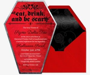 halloween free online invitations halloween party invitations