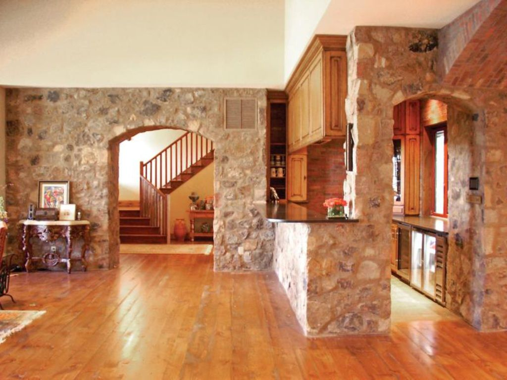 Interior Rock Wall   Google Search