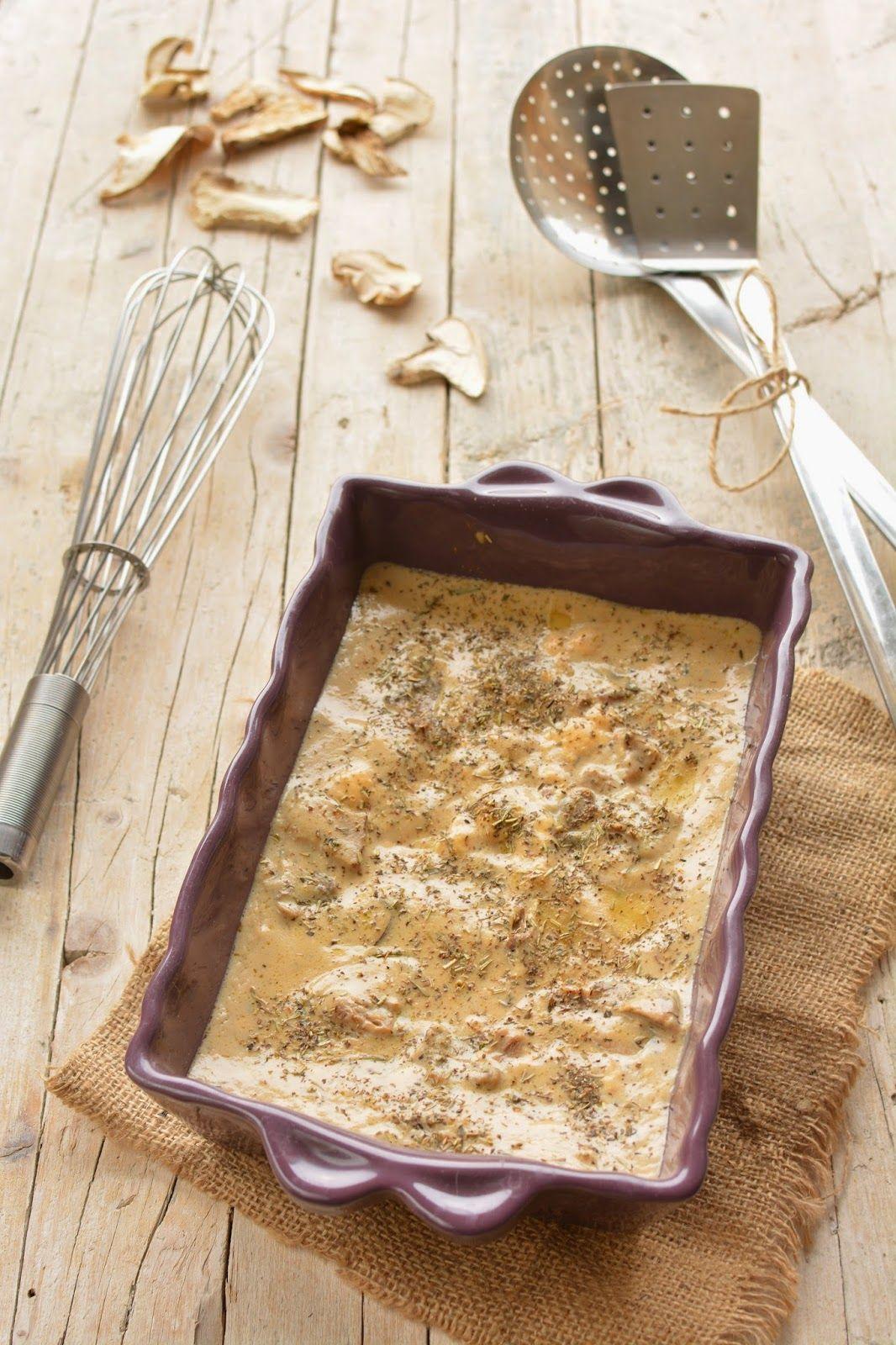 Lasagne ai Funghi con Crema di Latte di Capra al Tartufo - L'Omin di Panpepato