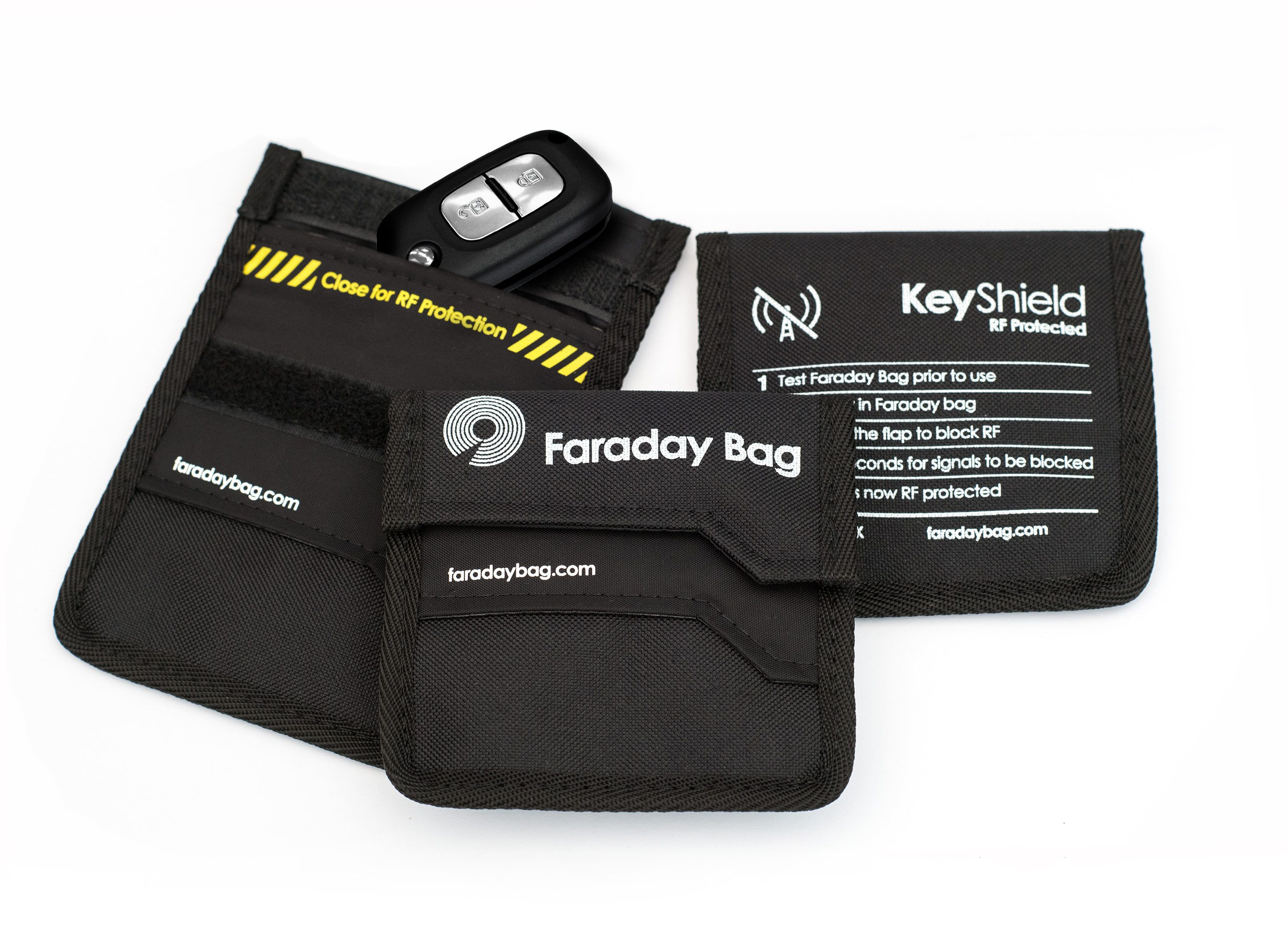 Disklabs Key Shield Ks1 Faraday Bag Rf Shielding For Car