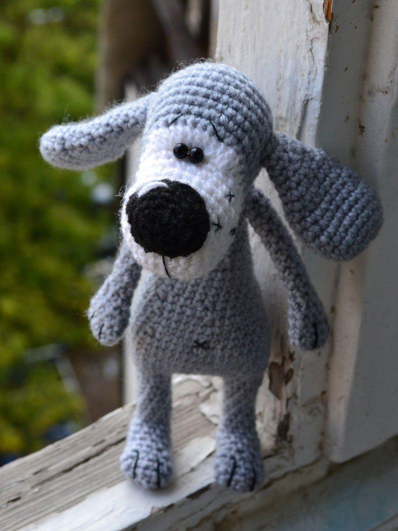 Boofle dog crochet pattern - Amigurumi Today | 1067x800