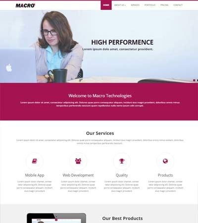 Corporate business free html5 template bootstrap themes corporate business free html5 template cheaphphosting Gallery