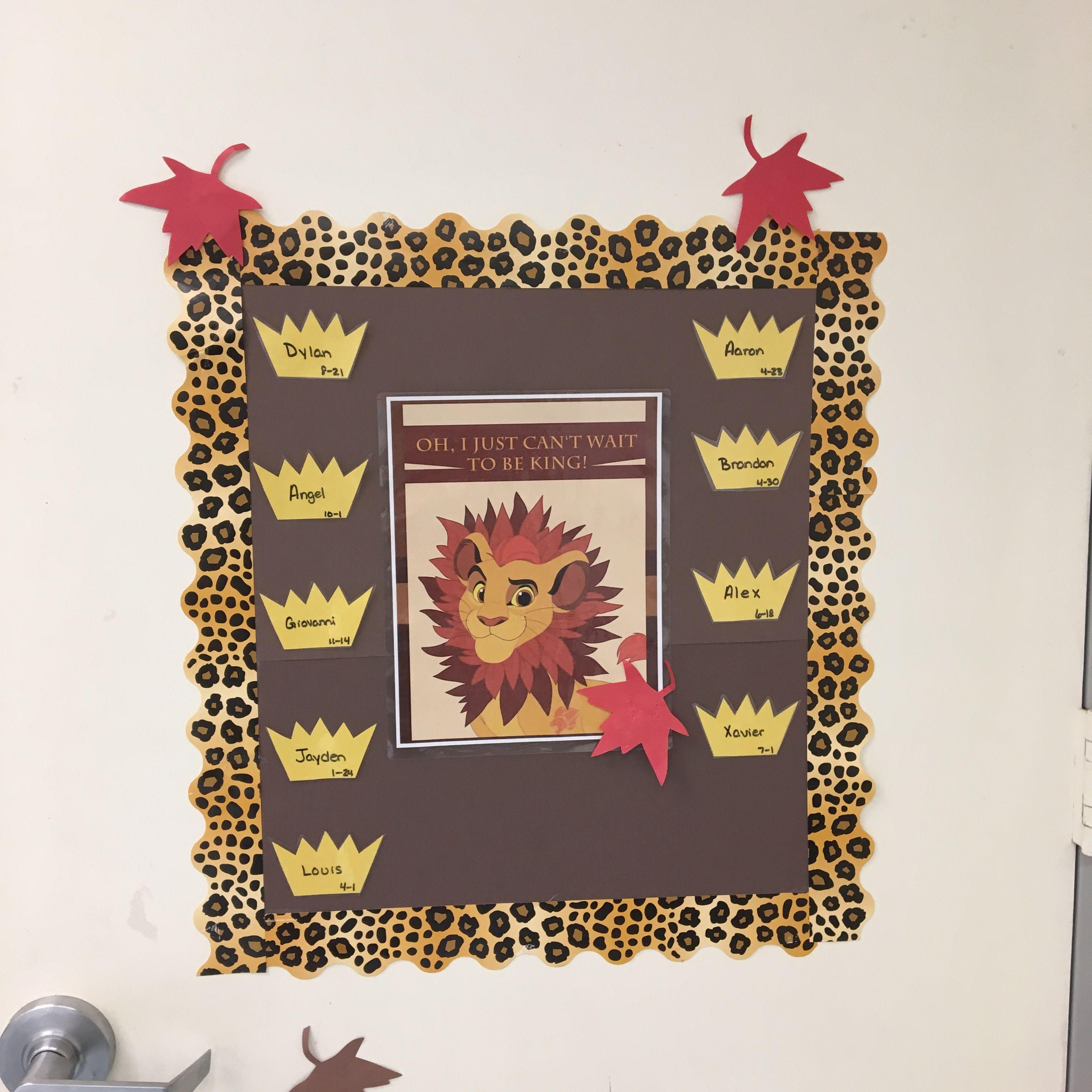 Lion King Classroom 19 Fall