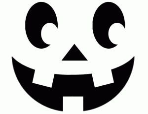 pumpkin template with face  Traditional Pumpkin Face Template for carving your pumpkin ...