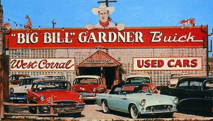Bills Used Cars: Big Bill Gardner Buick Car Used Car Dealership
