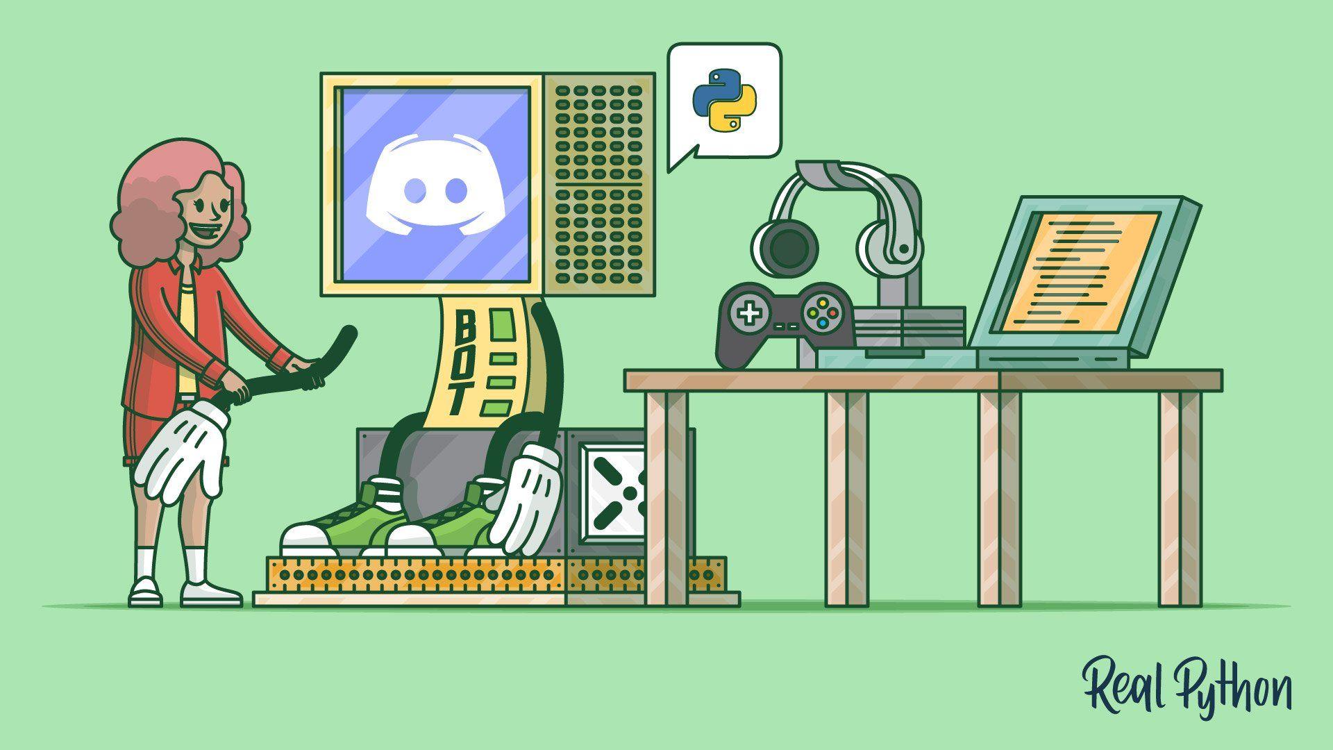 How To Make A Discord Bot In Python Python Python Programming Progressive Web Apps
