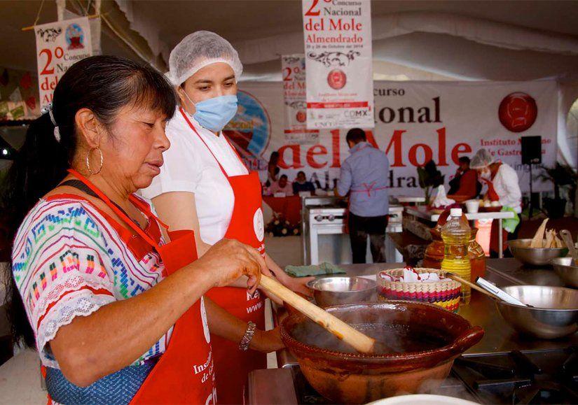Inicia Segundo Concurso #Gastronómico del #Mole #Almendrado en Milpa Alta