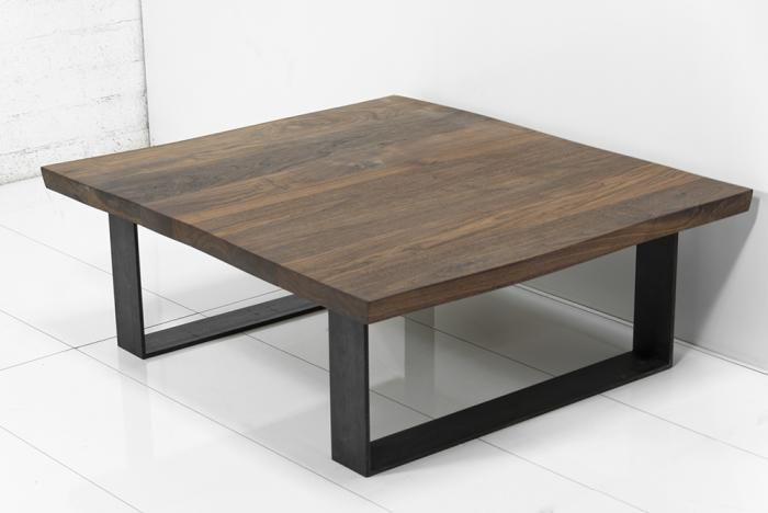 Eco Slab Industrial U Leg Coffee Table