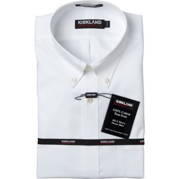 Costco: Kirkland Signature™ Men's Button Down Non-Iron Dress Shirt ...