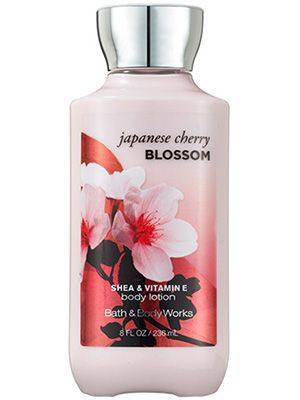 4c3c8082b133 Bath & Body Works Japanese Cherry Blossom Body Lotion: This updated Bath & Body  Works body moisturizer has the same delicate oriental floral scent as the  ...