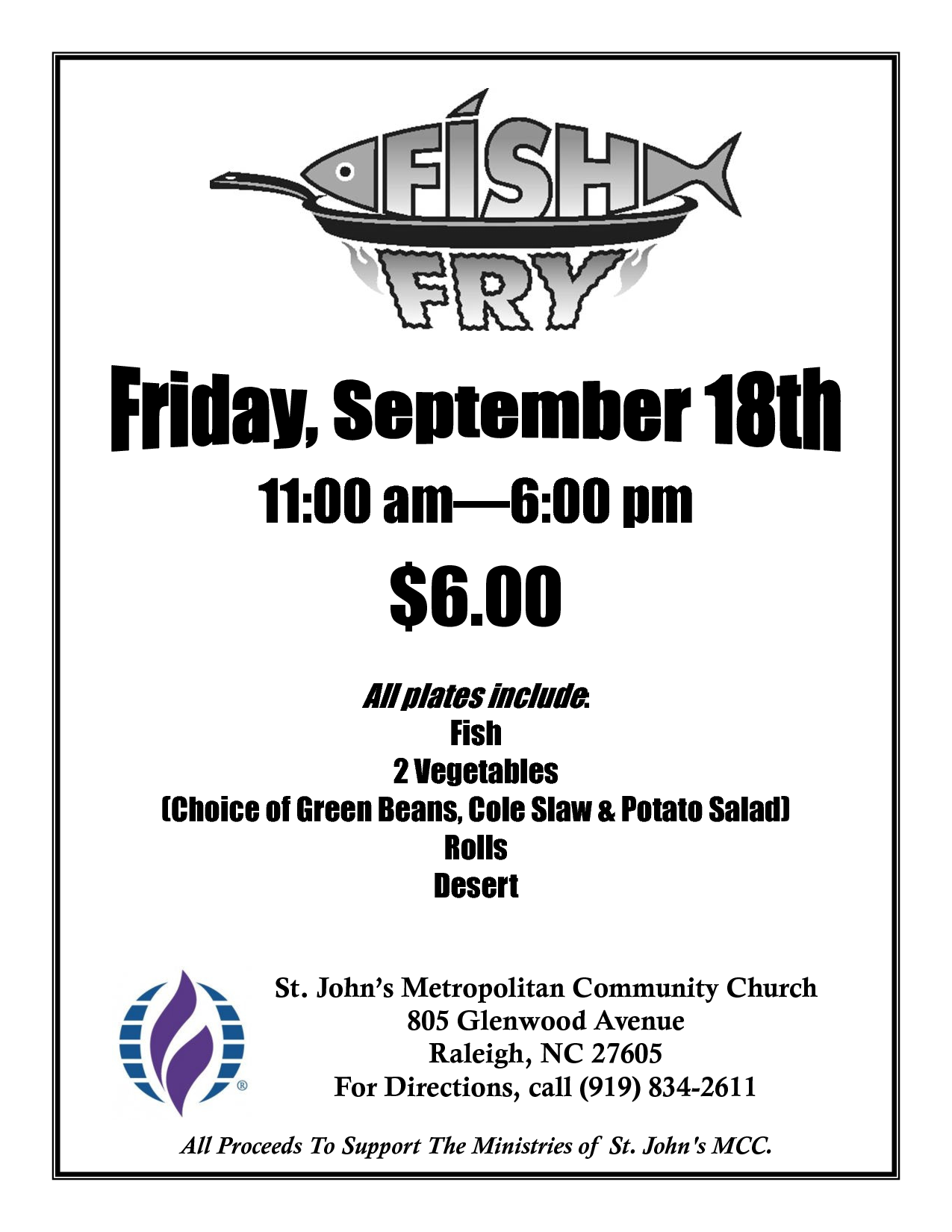 Free Fish Fry Flyer Templates | Fish Fry Poster