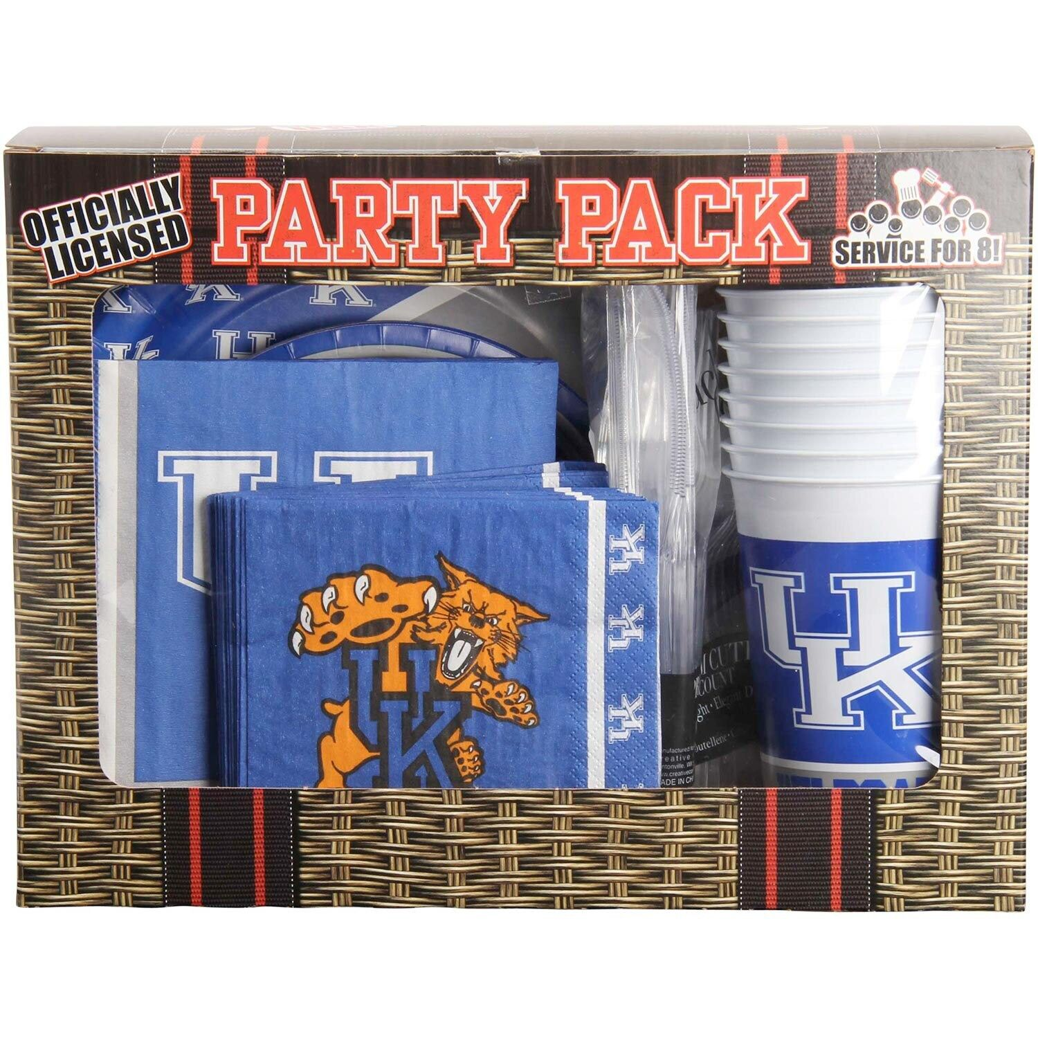 Kentucky Wildcats Game Day Party Pack #Affiliate #Game, # ...