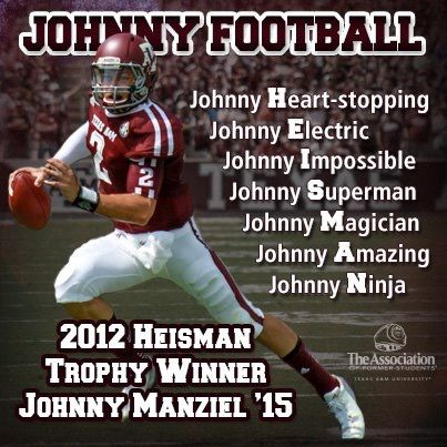 #johnnyheisman