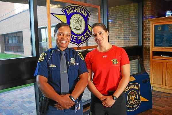 Michigan State Police looking to hire more women | MSP/Thin
