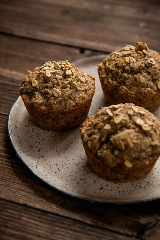 Banana Oat Breakfast Muffins & 5 Tips To Be More Productive | Will Cook For Friends