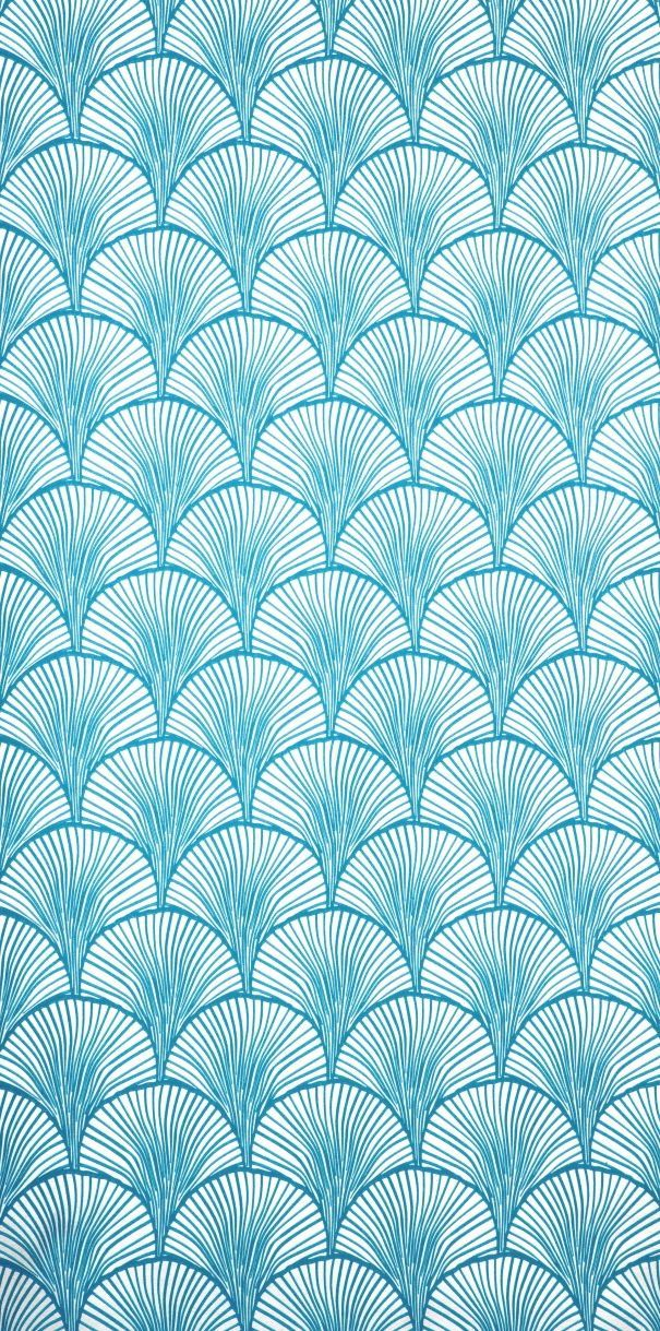 Scandinavian Wallpaper & Decor Mimou Wallpaper | Electric Blue .