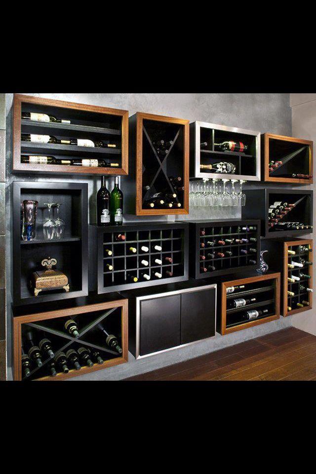 Love This Bar Contemporary Wine Racks Wine Decor Kitchen Kitchen Decor Sets
