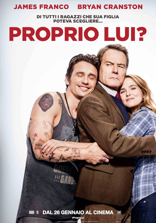 Proprio Lui?, il film di John Hamburg con James Franco e Bryan Cranston, dal 26 gennaio 2017 al cinema.