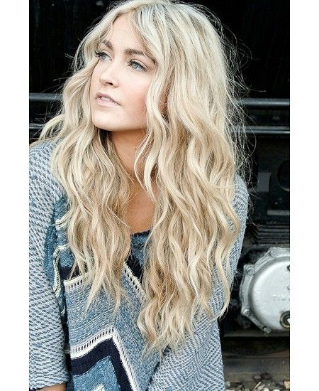 Channel your inner surfer girl by going allout blonde