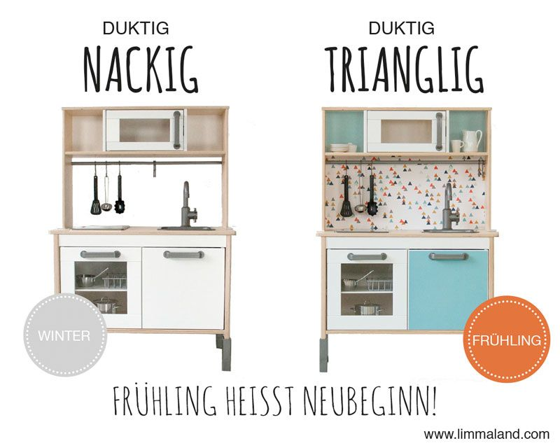 ikea duktig play kitchen for kids ikea hack limmaland decals sticker easy and perfect. Black Bedroom Furniture Sets. Home Design Ideas