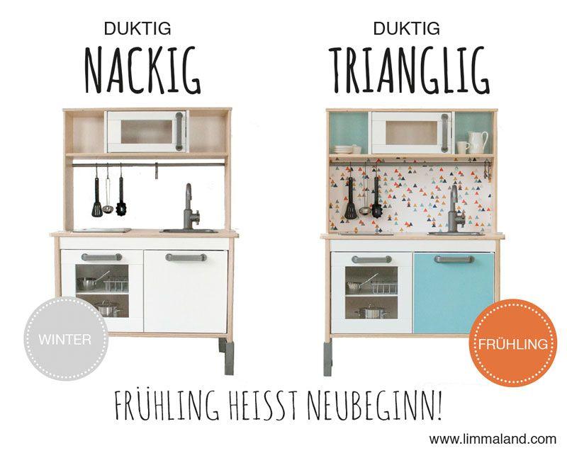 Ikea Duktig Play Kitchen For Kids Ikea Hack Limmaland Decals