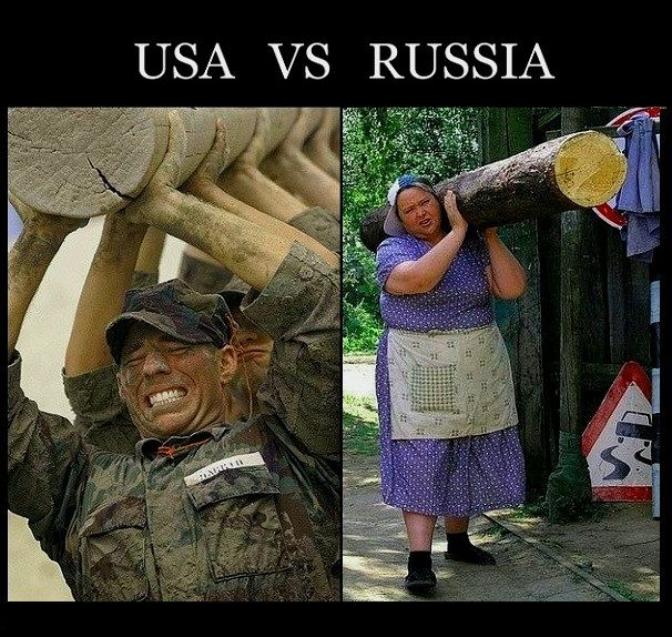 Russian Woman Has Strong 109