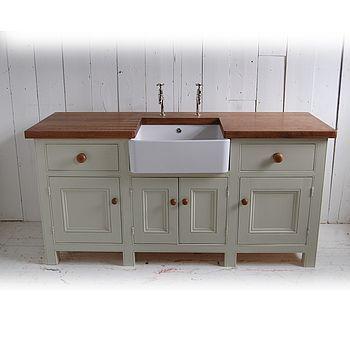 Free Standing Kitchen Sink Unit Kuche Freistehend Kuche Waschbecken Spulbecken Design