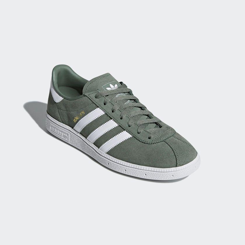 the latest 77a9c 297b2 adidas München Schuh - grün | adidas Deutschland | meine ...