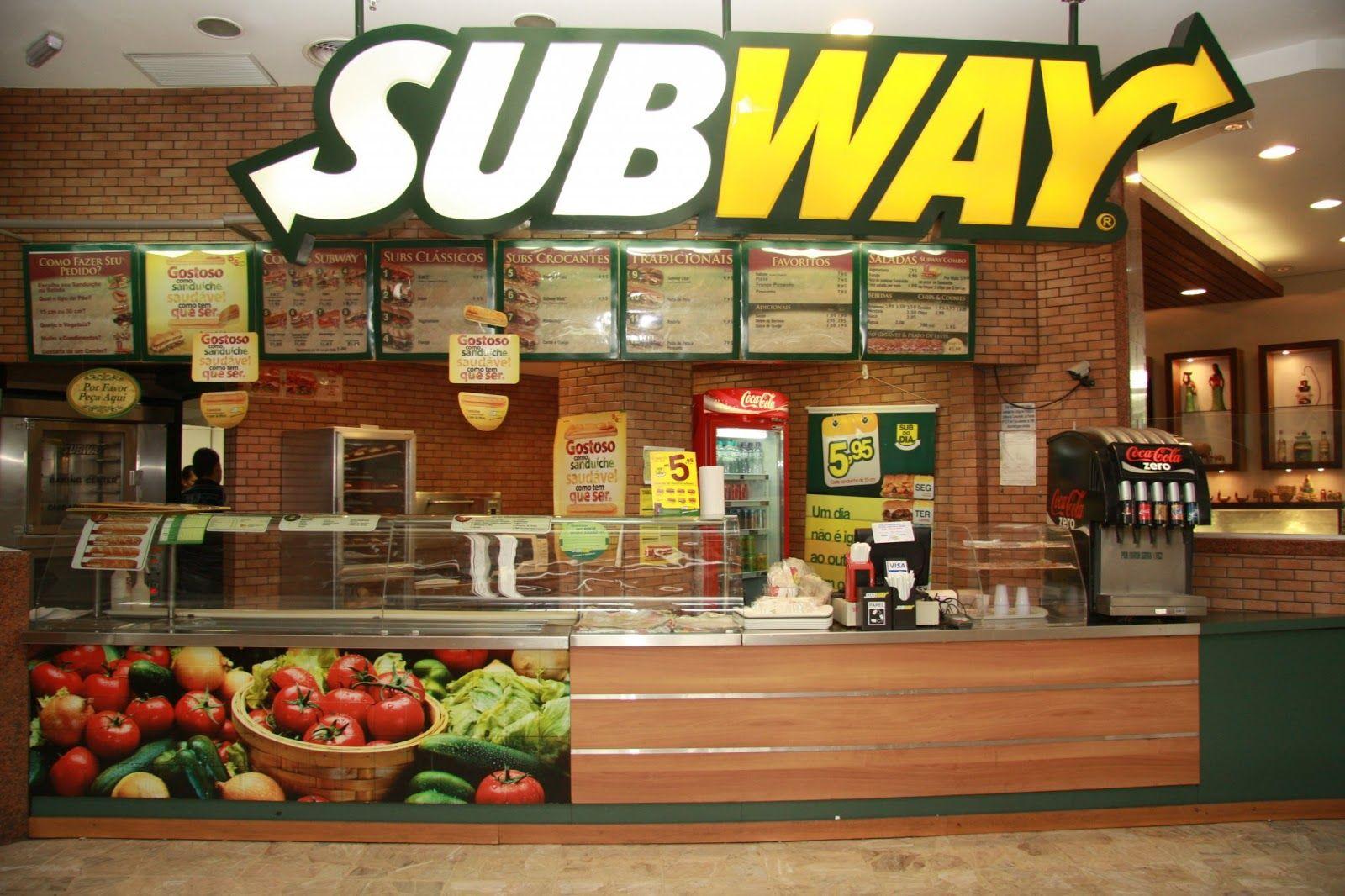 Bugaram mesmo a mulher do Subway