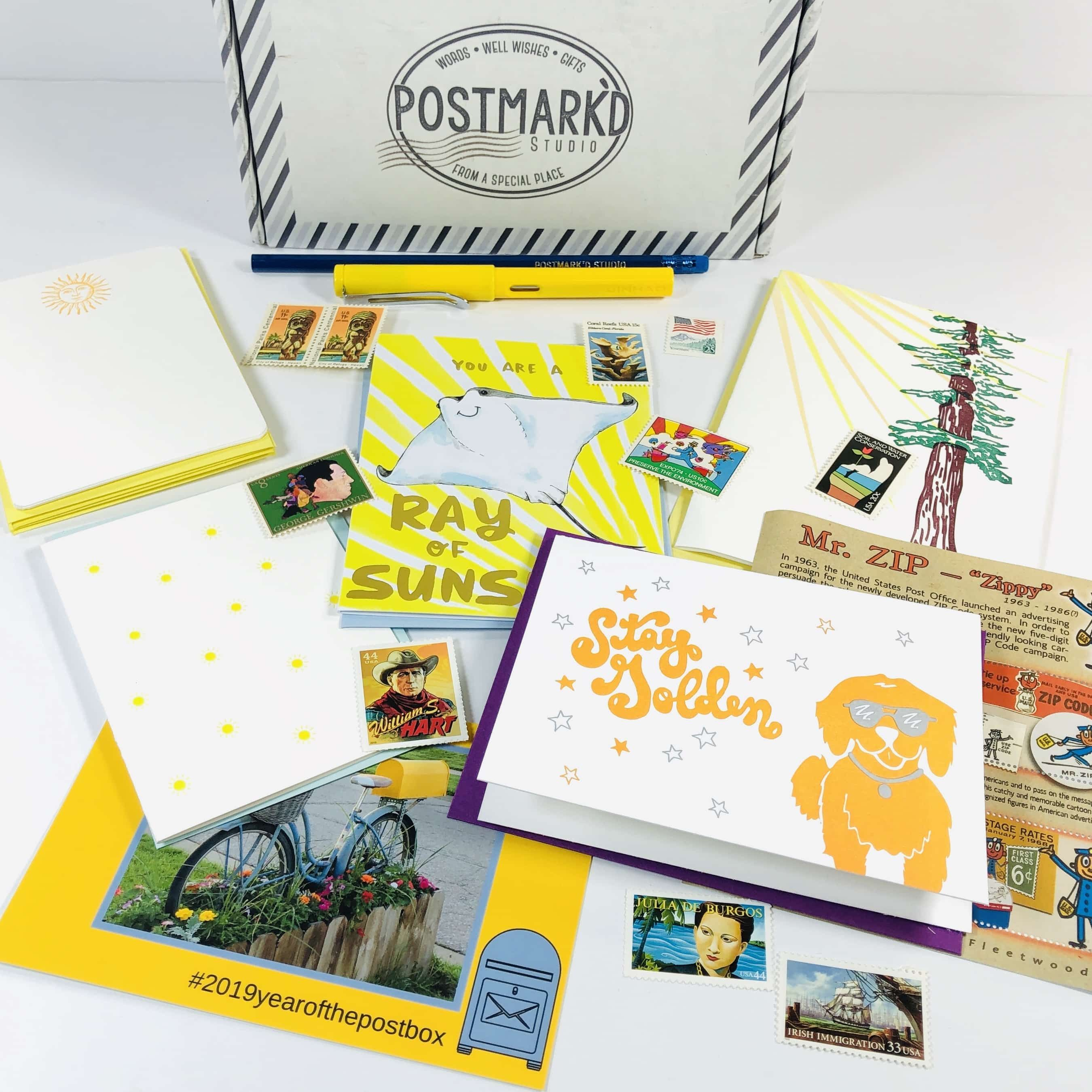 Postbox Subscription Box Review Coupon