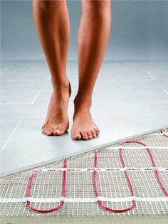 Install Heated Flooring For Less Than What Youu0027d Expect! Bathroom  Remodeling Blog