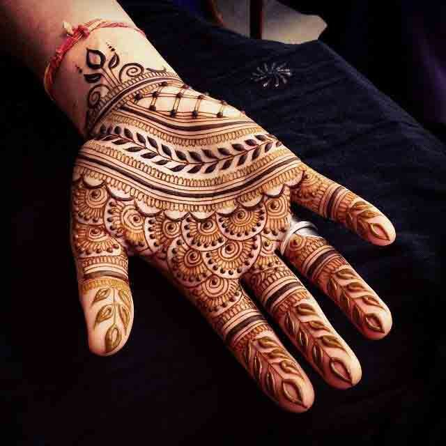 Full Hand Mehndi Designs For Men