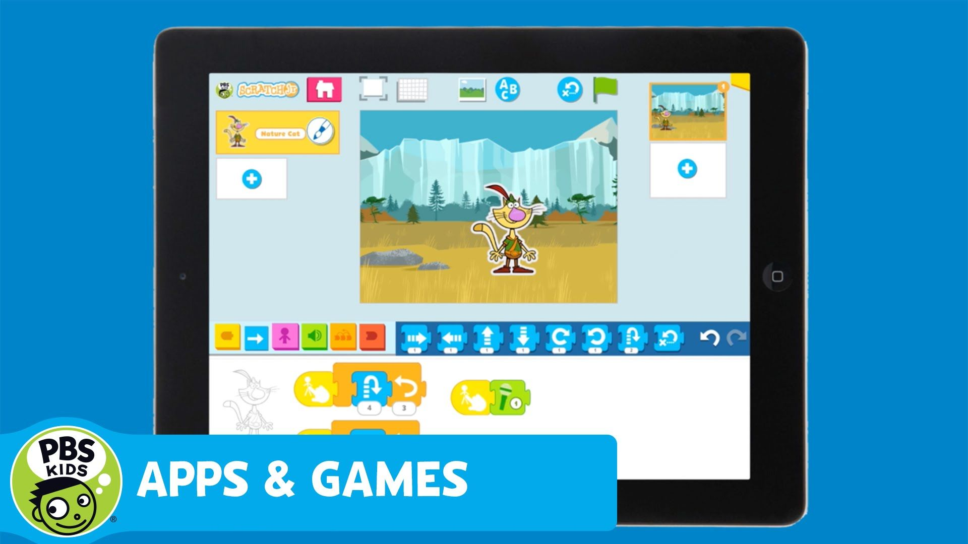 APPS & GAMES PBS KIDS ScratchJr YouTube Pbs kids