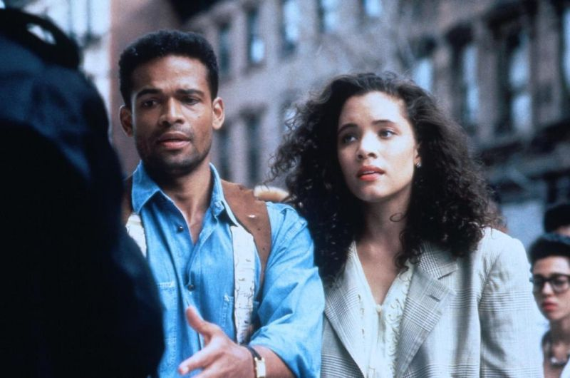 Mario van Peebles & Michael Michele in New Jack City