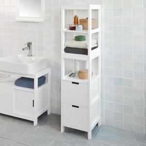 Colonne Salle De Bain Armoire De Toilette Rangement Salle De