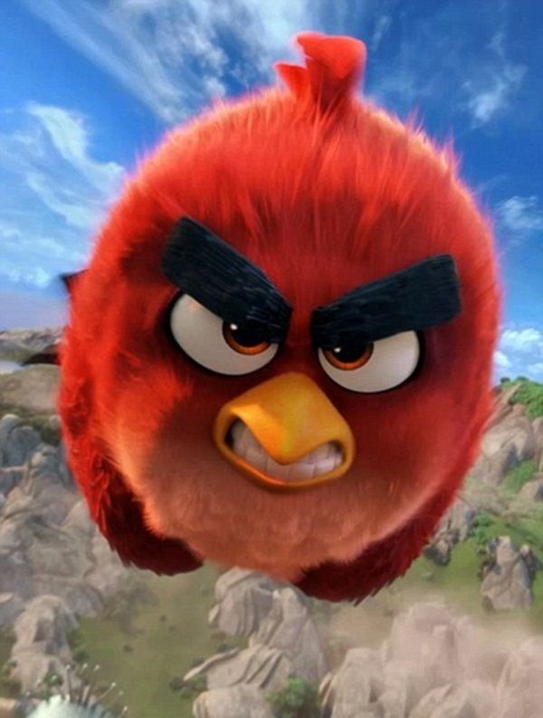 Top 20 Most Famous Cartoon Birds Fly High Paintings Angry Birds