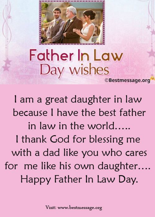 Best Collection Of Happy Father In Law Day Messages And Heartfelt