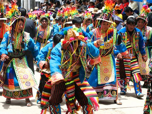 Ayacucho Carnival with handmade garments and typical dances
